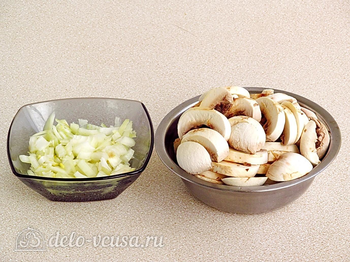 Рецепт блюд из картошки с грибами