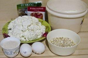 Сырники с овсяной мукой: Ингредиенты