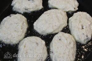 Сырники с овсяной мукой: Жарим сырники