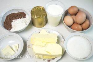 Торт Прага по ГОСТу: Ингредиенты