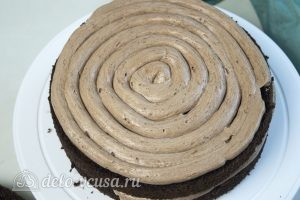 Торт Прага по ГОСТу: Отправить торт в холодильник