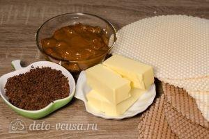 Вафельный торт со сгущенкой: Ингредиенты