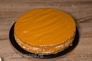Вафельный торт со сгущенкой: Собираем торт