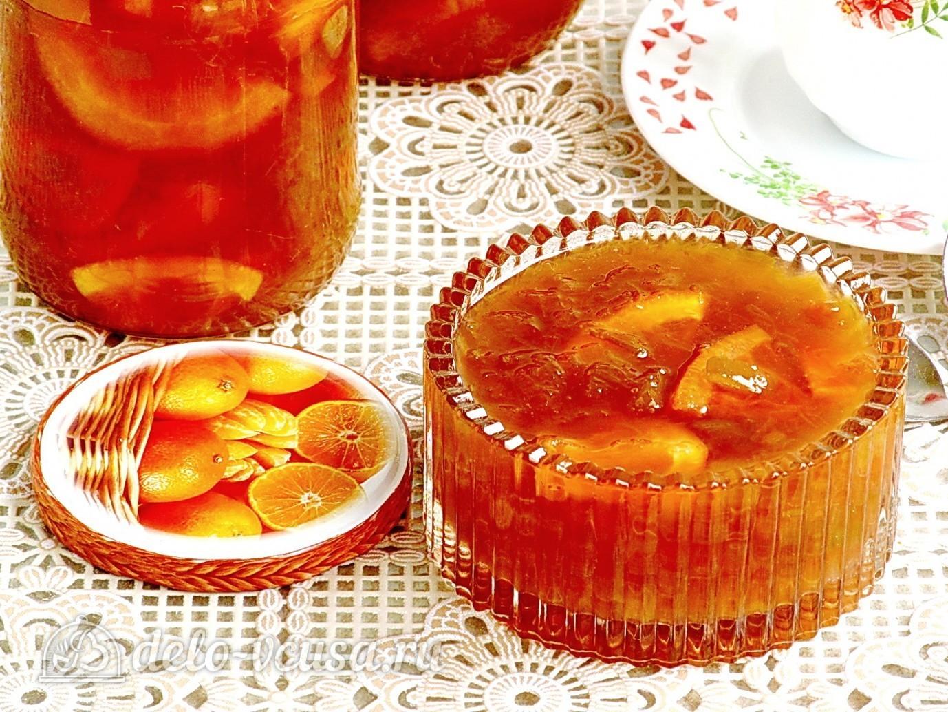 Варенье из ревеня с апельсинами