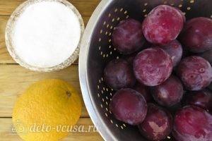 Варенье из сливы с апельсином: Ингредиенты