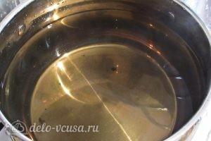 Виноградный компот с мятой на зиму: Заливаем окончательно водой