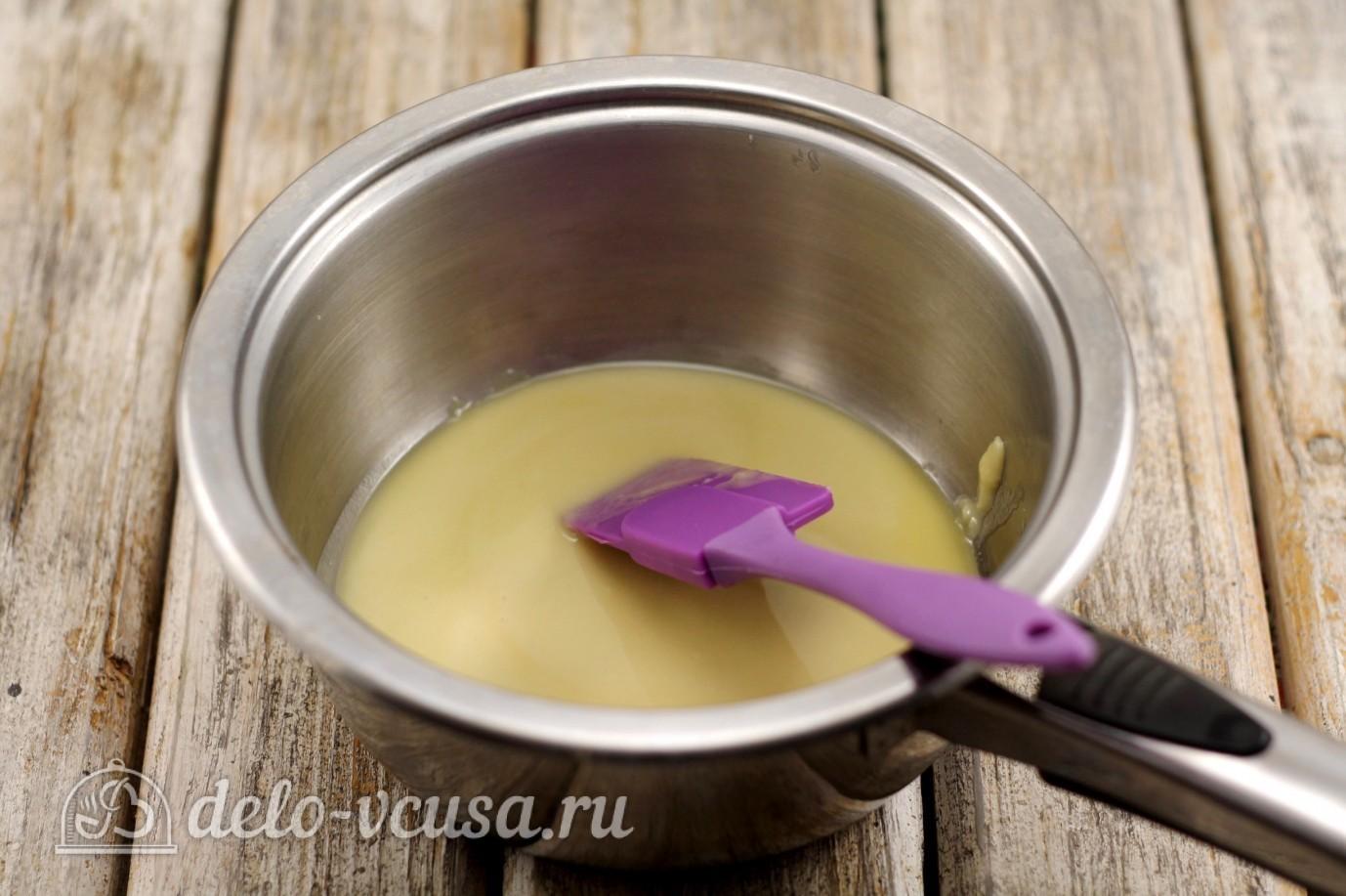 Жульен с курицей: Добавить молоко