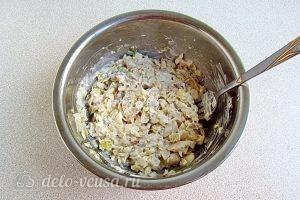Бутерброды с минтаем: Добавить майонез