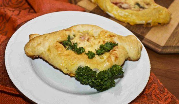 пирожки с шампиньонами в духовке рецепт с фото