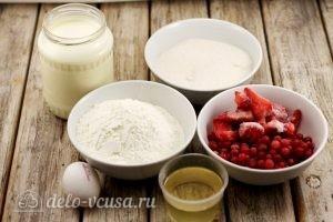 Маффины с ягодами: Ингредиенты