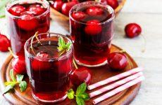 Напитки из вишни 4 летних варианта