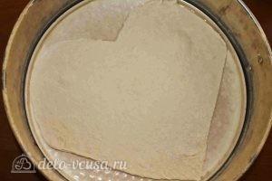 Пицца в форме сердца: Вырезать форму сердца