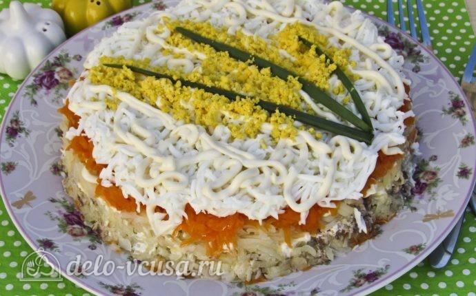 салат мимоза рецепт классический рецепт с картошкой