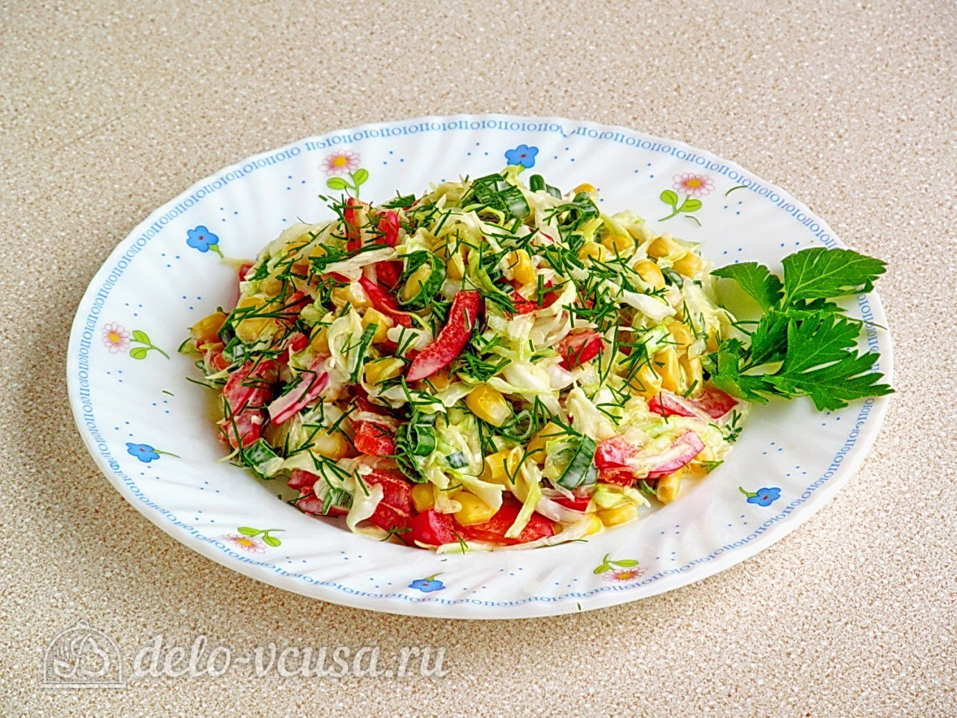 салат из кукурузы перца рецепты