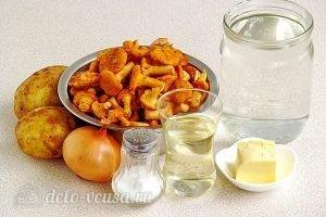 Суп из свежих лисичек: Ингредиенты