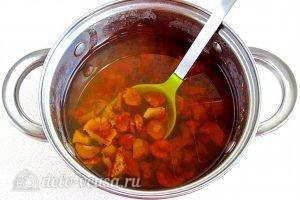 Суп из свежих лисичек: Варим грибы