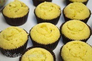 Ванильные кексы с начинкой: Закрыть начинку