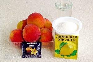 Варенье из персиков по-слонимски: Ингредиенты