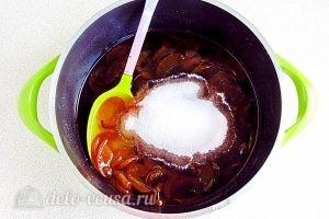 Варенье из персиков по-слонимски: Добавляем еще сахар