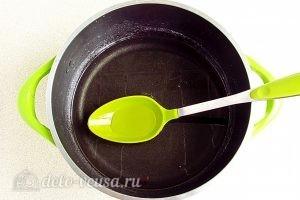 Варенье из персиков по-слонимски: Сварить сироп