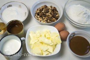 Арахисовый торт Коровка: Ингредиенты