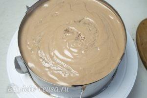 Арахисовый торт Коровка: Собрать торт