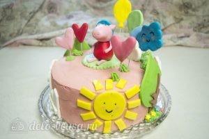 Арахисовый торт Коровка: Декорировать торт