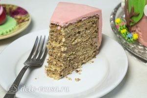 Арахисовый торт Коровка готов