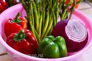 Быстрый гарнир из овощей: Ингредиенты