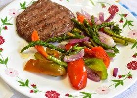 Быстрый гарнир из овощей