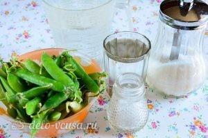 Консервированный горошек на зиму: Ингредиенты