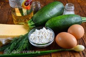 Кабачковые оладьи с сыром: Ингредиенты
