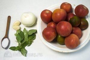 Томатный соус с базиликом: Ингредиенты