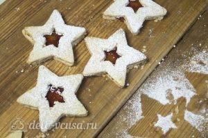 Линцерское печенье: Подобрать каждому печенью пару и соединить их