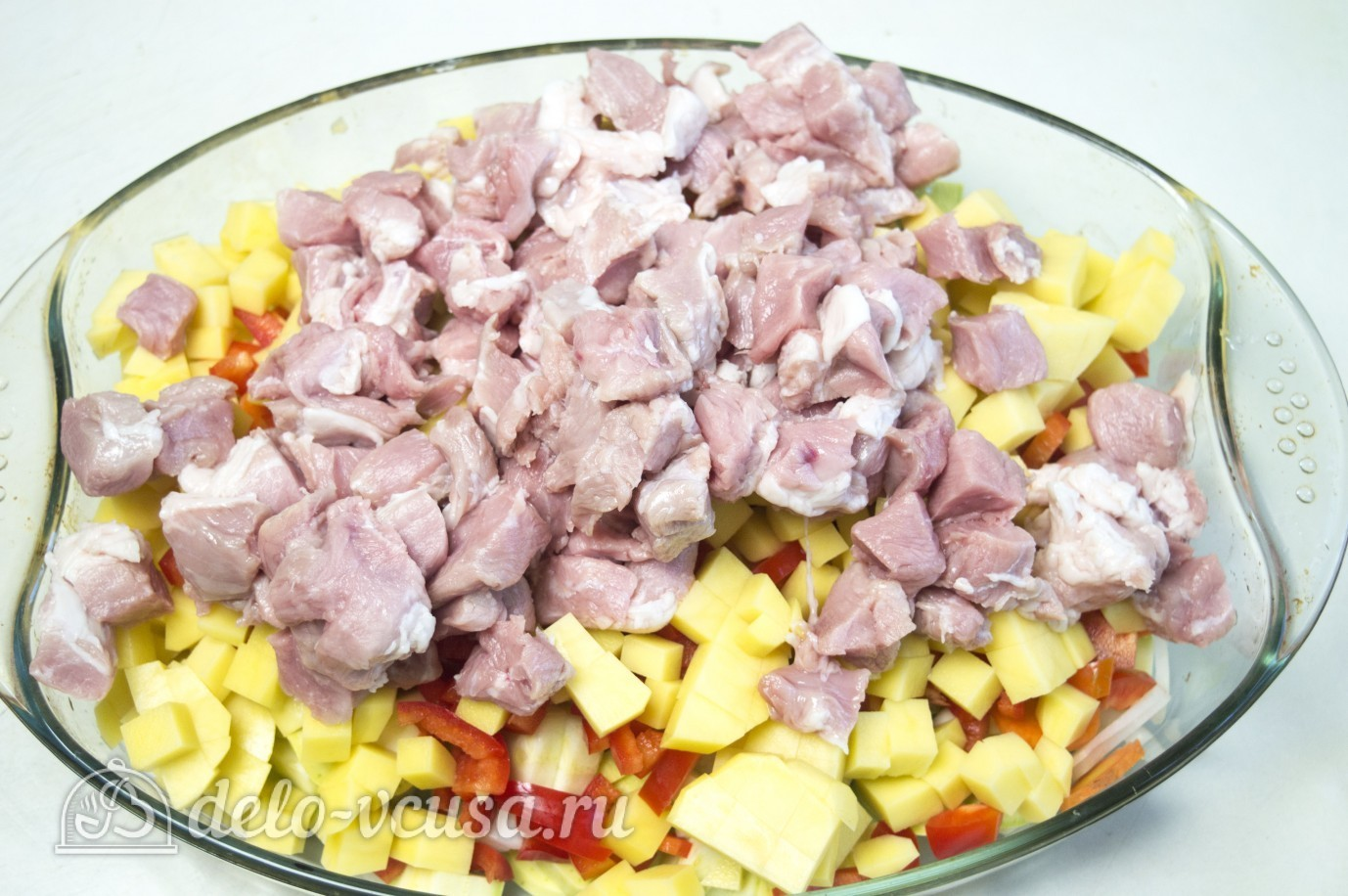 мясо в форме в духовке рецепт с фото