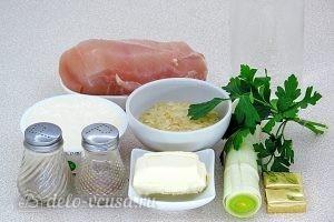 Куриный суп с рисом и сыром: Ингредиенты