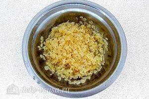 Куриный суп с рисом и сыром: Рис промыть