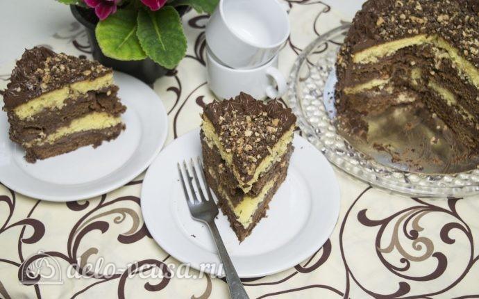 Рецепт шоколадный торт дуэт