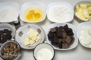 Шоколадный торт Дуэт: Ингредиенты