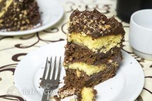 Шоколадный торт Дуэт готов