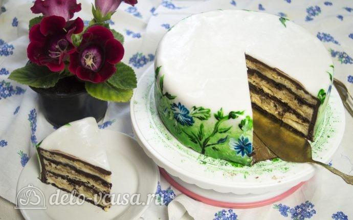 Сметанный торт Мишка