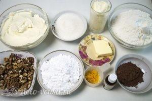 Сметанный торт Мишка: Ингредиенты