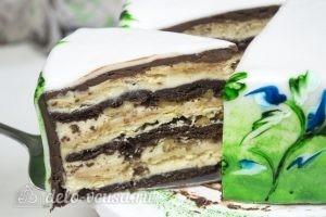 Сметанный торт Мишка готов