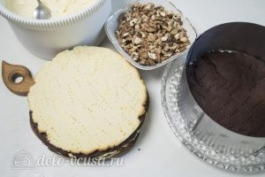 Сметанный торт Мишка: Начинаем собирать торт