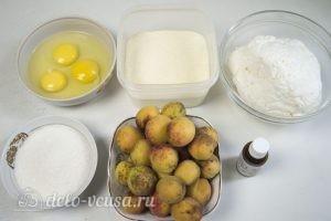 Сырники с абрикосами: Ингредиенты