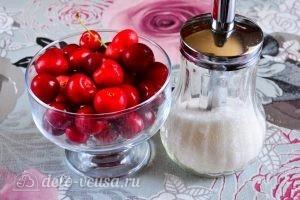 Варенье из черешни с косточкой: Ингредиенты