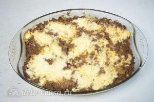 Запеканка из макарон с фаршем: Запекать спагетти