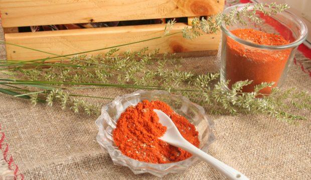 Сухая аджика красная, рецепт с фото