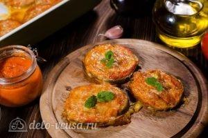 Баклажаны под сыром в духовке готовы