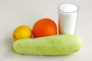 Джем из кабачков с апельсином и лимоном в мультиварке: Ингредиенты